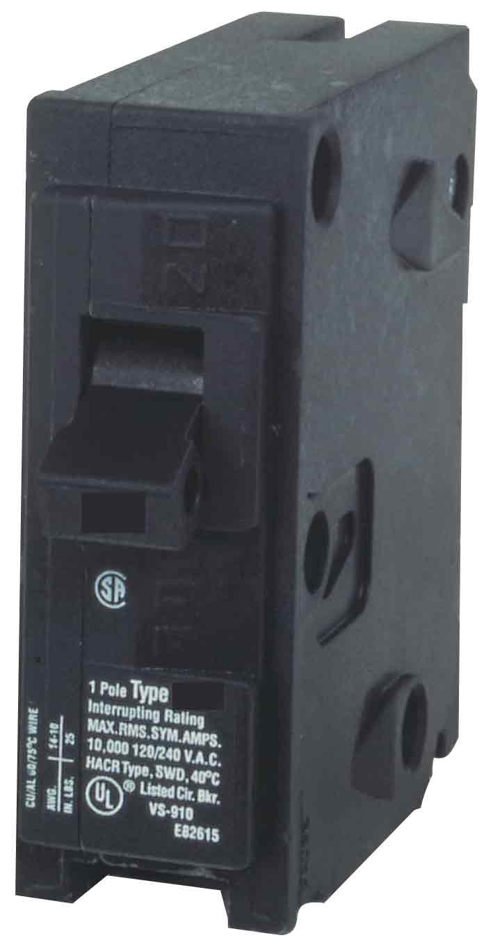 MP115 15-Amp Single Pole Type MP-T Circuit Breaker - - Amazon.com