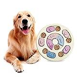 GLBHL Dog Bowl Slow Feeder Anti Choking Puzzle