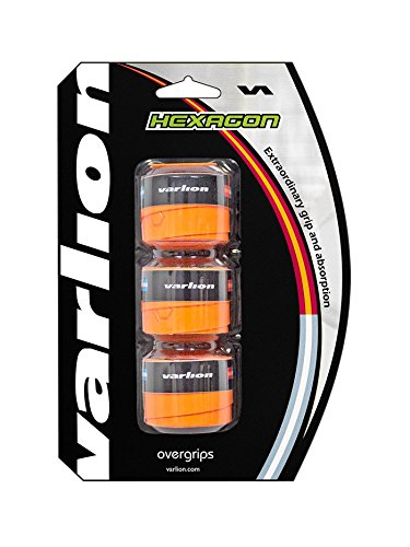 Varlion Hexagon - Overgrip de pádel, color naranja flúor: Amazon.es: Deportes y aire libre