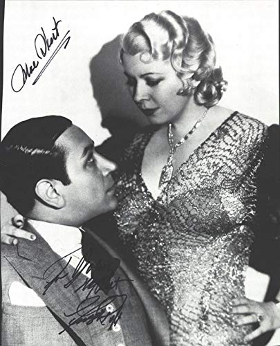 Night After Night Movie Cast - Inscribed Magazine Photo Signed co-signed by Mae West, George Raft