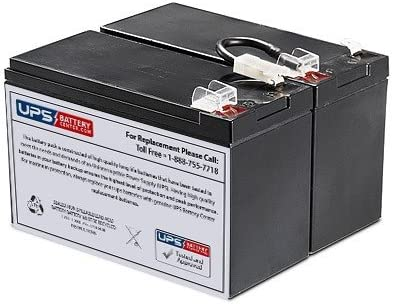 RBC109 Compatible Replacement Battery Pack for Ultra RCD-UPS1500D