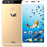 Kata M4 - 5.5-inch Full HD IPS Octa Core International Unlocked Smartphone Android 6.0 - Super Slim Full HD 1.3 GHz Dual Sim Card 4G 18MP Camera (Gold)