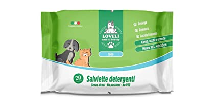 Eudorex Cleaning Toallitas Limpiadoras para Perros Y Gatos – 20pz tamaño XXL