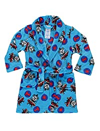Thomas & Friends Toddlers Fleece Sleep Robe | Soft & Cozy Boys Bathrobe