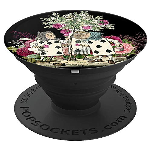 - Alice in Wonderland Rose Garden Painting Roses - PopSockets Grip and Stand for Phones and Tablets