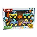 Webby Inertia Construction Toy Vehicles