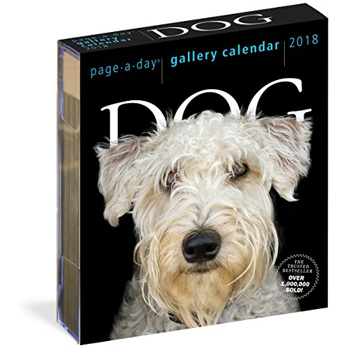 Dog Page-A-Day Gallery Calendar 2018 cover