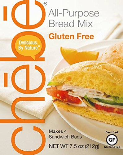 Wheat Bread Mix Free (Chebe Bread All-Purpose Mix, Gluten Free, 7.5-Ounce Bags (Pack of 8))