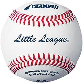 Champro Little League doppio cuscino Cork Core in pelle pieno fiore di baseball (12pezzi)