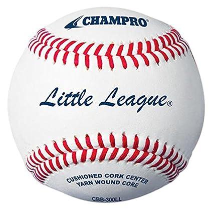 Amazon.com: CHAMPRO Little League doble Cojín corcho Core ...