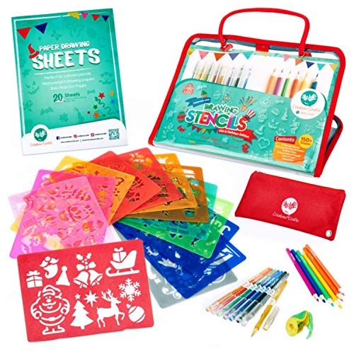 Holiday Stencils Set for Kids - USA Edition