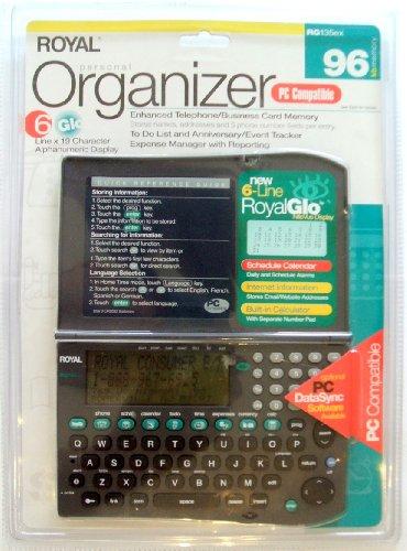 Royal RG135ex Handheld Organizer by Royal Electronics