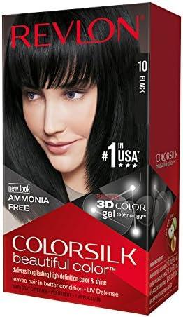 COLORSILK tinte Negro Nº 10 caja 1 ud: Amazon.es: Belleza