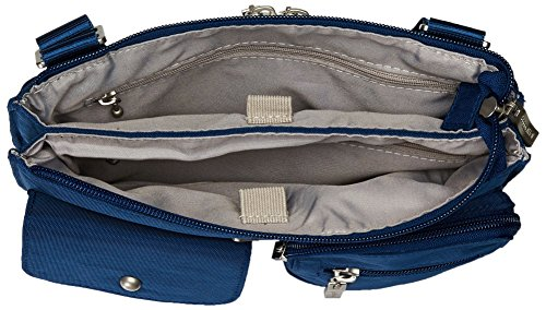 Lightweight Pacific Removable Baggallini Crossbody Bag and Multi Wristlet Pocketed Sleek with Travel �C Slim Everything Bag OSqOZ0x