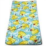 Mini's Rubber Ducks Yellow Multi-Purpose Microfiber Towel Ultra...