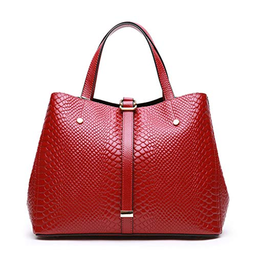 Main Red Féminin Lxf20 Sac Bandoulière Grand Simple Pu À Dames InIwzqfBp