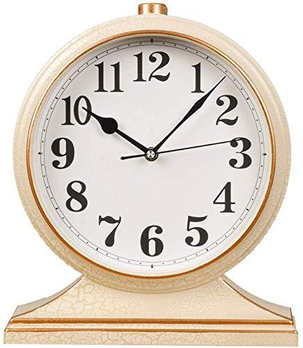 Reloj De Mesa Retro Tabla Manto Reloj Reloj de Escritorio, Mute ...