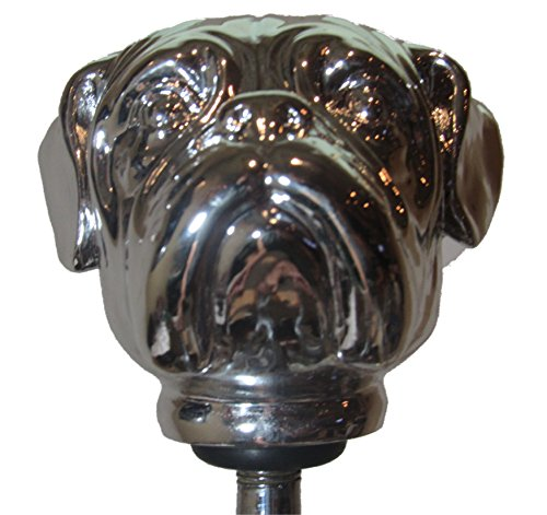 (Kool Collectibles Chrome Bulldog Head Shift Knob Shifter Rat Rod Lever Mac)