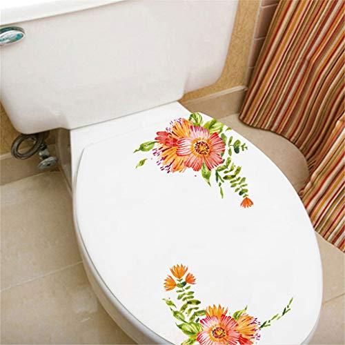 LQFLD Wall Sticker for Toilet Fridge Wall Sticker Cabinet Glass Diagonal Sticker-3pcs,C
