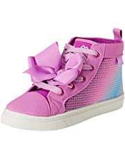 JoJo Siwa Girls' Sequins High Top Sneakers (Little Girl/Big Girl)