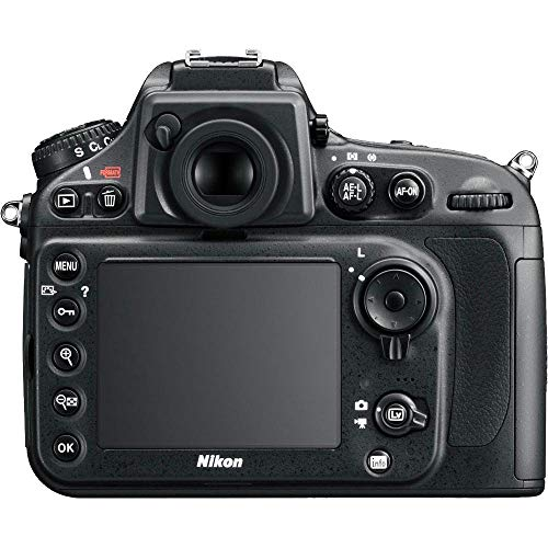 Nikon D800 36.3 MP CMOS FX-Format Digital SLR Camera (Body Only) (OLD MODEL) (Renewed)