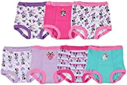 Disney girls Toddler Girls Minnie Mouse 7 Pack Training Pants