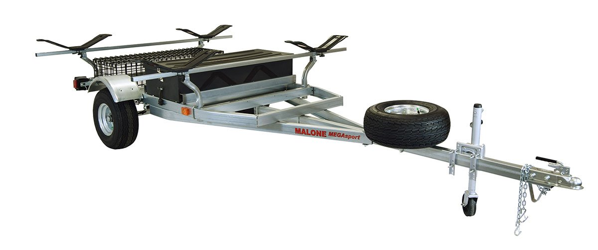 Malone Auto Racks 2 boat trailer package w/storage - MegaWing by Malone