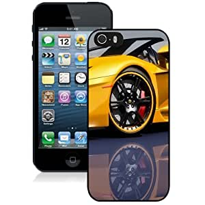 Beautiful Custom Designed Cover Case For iPhone 5s With Lamborghini Aventador LP 720 4 Yellow Phone Case Kimberly Kurzendoerfer