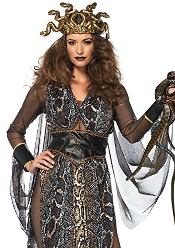 Leg Avenue Women's Sexy Medusa Costume, Multi, Medium -