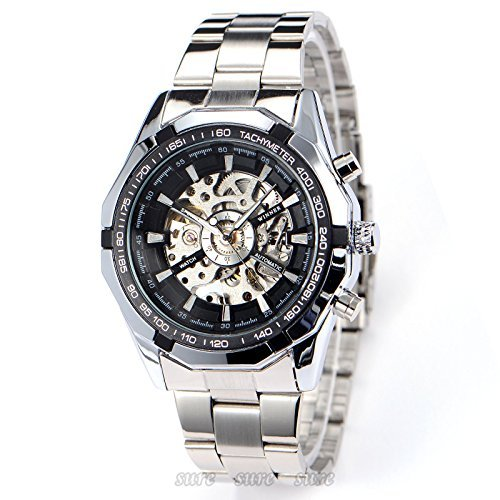GuTe Skeleton Mechanical Wristwatch Automatic product image