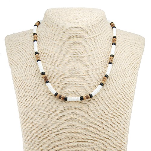 Tiger Puka Shell Necklace - 5
