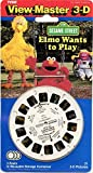 Viewmaster - Sesame Street - Elmo Wants to Play - 21 3d Images - NEW