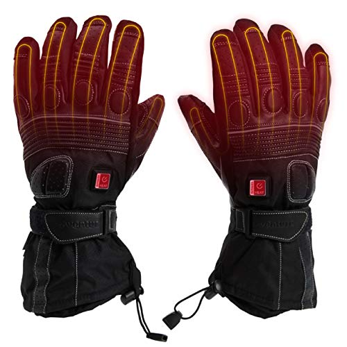 Venture Heat 12V Motorcycle Heated Gloves - The Touring Bike Gloves, Unisex