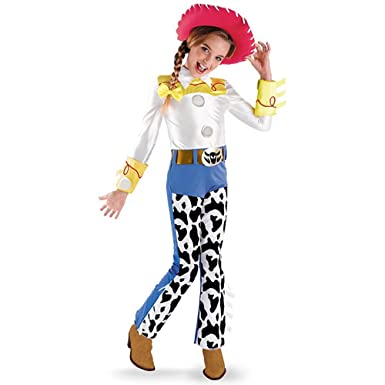 Toy Story Jessie Deluxe Toddler Costume  sc 1 st  Amazon.com & Amazon.com: Disguise Jessie Deluxe Child Costume-: Clothing