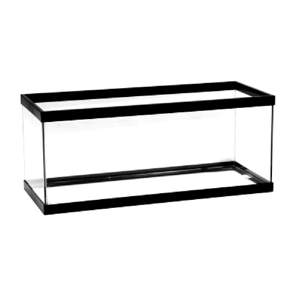 20 Gal Aquarium Tank Long Standard Tanks Black Trim Quality Constructed for Freshwater and Marine Applications - Skroutz Deals by Unknown