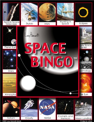 Space Bingo Board Game