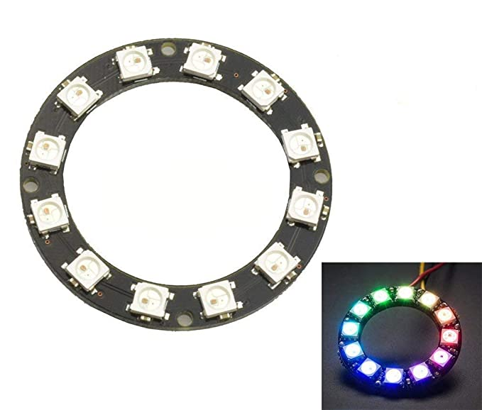 16 Bits 16 X Ws2812 5050 Rgb Led Ring Lamp Light With Integrated Drivers Products Are Sold Without Limitations Integrated Circuits