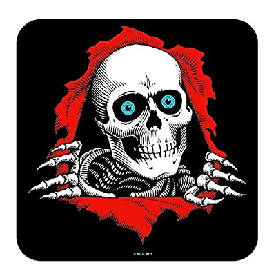 Powell Peralta Ripper Ramp Decal - Black - 12in - Sticker : Sports & Outdoors