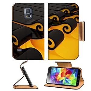 3D View Computers Roll Tsunami Art Samsung Galaxy S5 SM-G900 Flip Cover Case with Card Holder Customized Made to Order Support Ready Premium Deluxe Pu Leather 5 13/16 inch (148mm) x 2 1/8 inch (80mm) x 5/8 inch (16mm) MSD S V S 5 Professional Cases Access
