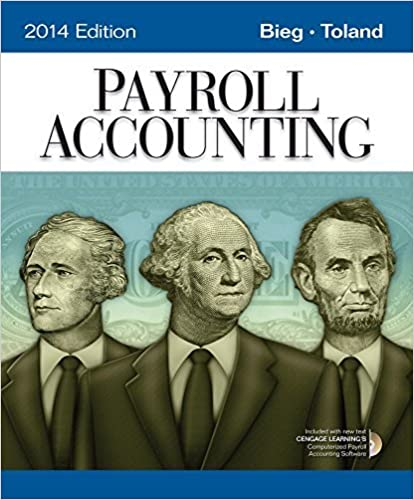 Book Payroll Accounting 2014 (with Computerized Payroll Accounting Software CD-ROM) by Bernard J. Bieg (2013-11-01)