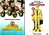 Office Space & Super Troopers Double Feature Comedy Set 2 Goof Movie Bundle DVD