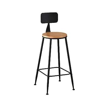 Amazon.com: Taburete bar desayuno cocina silla estilo retro ...