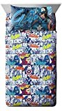 Jay Franco Marvel Avengers Publish 3 Piece Twin Sheet Set,
