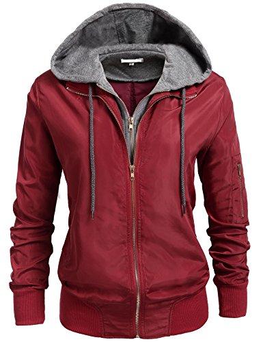 fall jacket with hood - 8