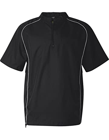 Rawlings 9702 Short Sleeve Quarter Zip Pullover