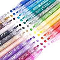 ZEYAR Acrylic Paint Pens for Rock Painting, Water Based Medium Point, Assorted Colors,Odorless,Acid Free,Non-Toxic and...