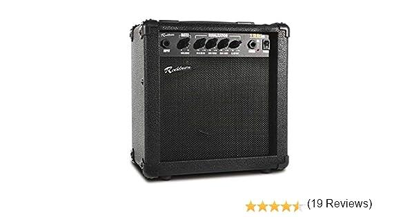 Rockburn 15 W para bajo amplificador de guitarra: Amazon.es: Instrumentos musicales