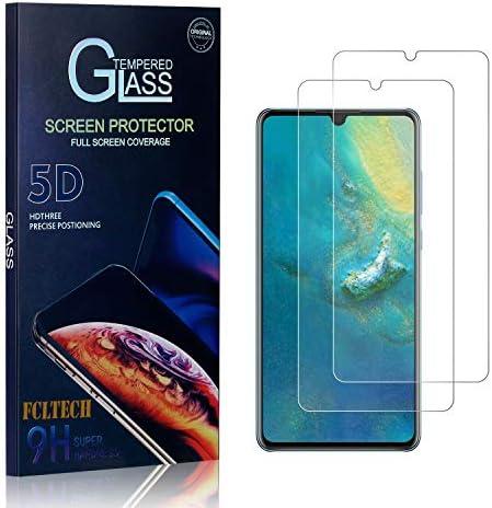 FCLTech Schutzfolie für Huawei P30, 2 Stücke Klar HD Displayschutzfolie Folie Kompatibel mit P30