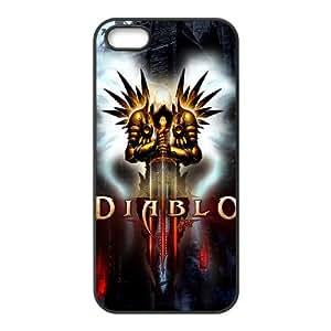 Diablo Diablo iPhone 5 5s Cell Phone Case Black VC9G02G5