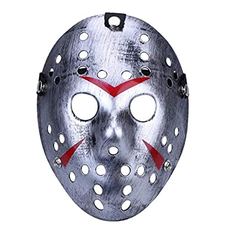 LySanSan - Halloween Masks Mascara Dance Gathering Jason Mask Horror Funny Mask - - Amazon.com